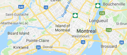 Map of montreal
